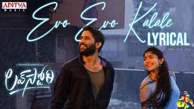 Evo Evo Kalale Lyrics - Love Story (Telegu)